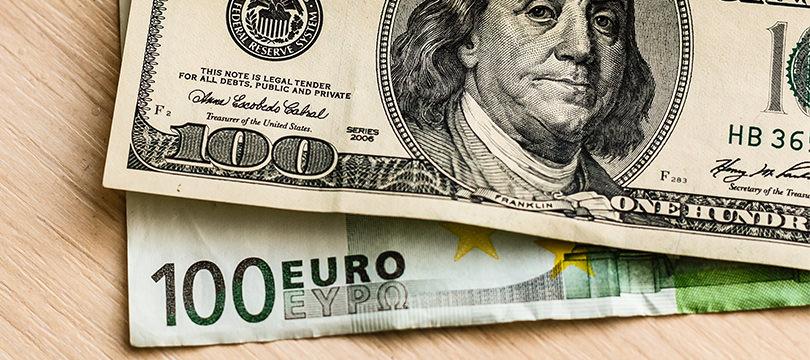 """Immagine Euro Dollaro: le Previsioni """"Ottimistiche"""" di Citibank per la Fine dell'Anno"""